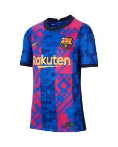 Nike Barcelona Youth 3rd Jersey - Blue