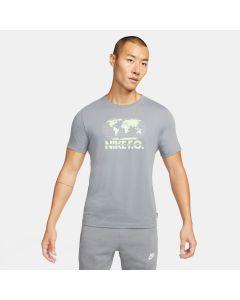 Nike F.C. Globe Soccer T-Shirt - Grey
