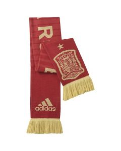 adidas Spain Home Scarf - Red/Gold