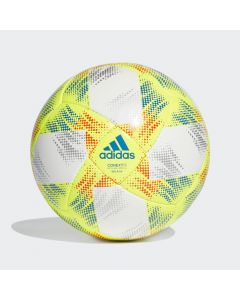 adidas Conext 19 Sala 65 Soccer Ball - White/Yellow