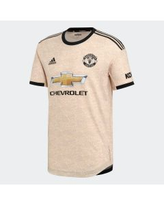 adidas Manchester United Authentic Away Jersey soccer jersey 19/20-Gold