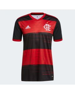 adidas CR Flamengo Home Jersey 2020/2021- Red Black