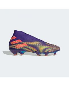adidas Nemeziz + Firm ground Mens cleats - purple green