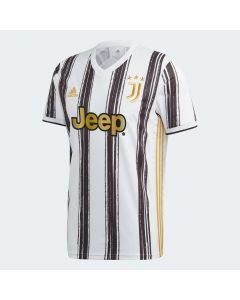 Adidas Juventus Mens Home Jersey 20/21-Black/White