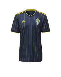 Adidas Sweden Away Jersey 2021 - Navy