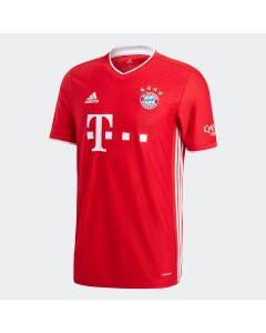 adidas Bayern Munich Mens Home Jersey 2020/21-Red