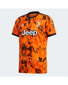adidas Juventus Mens Third Jersey 2020/21- Orange