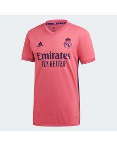 adidas Real Madrid Mens Away Jersey 2020/21 - Pink