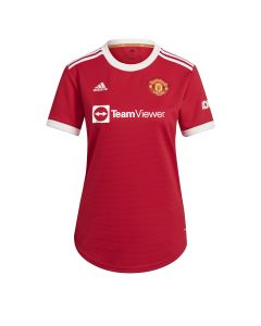 Adidas Man United Women's Home Jersey - Red