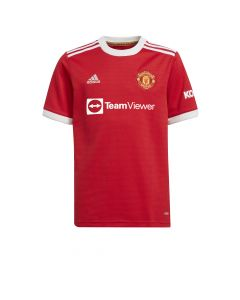 Adidas Man United Youth Home Jersey - Red