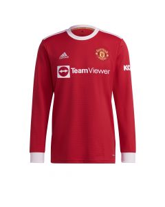 Adidas Manchester United Home LS - Red