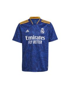 Adidas Real Madrid Youth Away Jersey - Blue