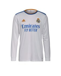 Adidas Real Home LS Jersey 2021 - White