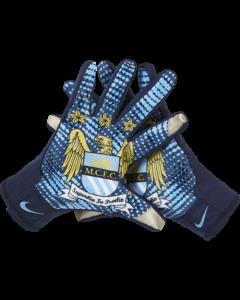 Nike Manchester City Stadium Gloves - Blue/Navy
