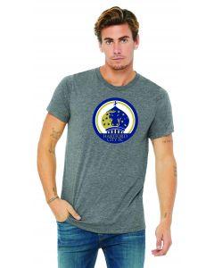 Hartford City FC Canvas Tee -Grey with HCFC logo