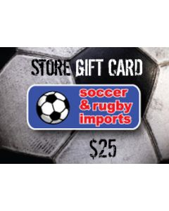 Soccer and Rugby In-Store Card $25