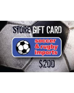 Soccer and Rugby In-Store Card $200