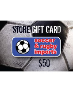 Soccer and Rugby In-Store Card $50