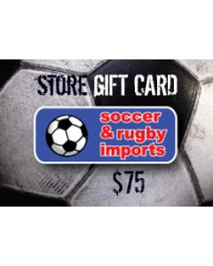 Soccer and Rugby In-Store Card $75