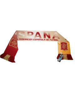 adidas Spain Federation Scarf - Red/Yellow