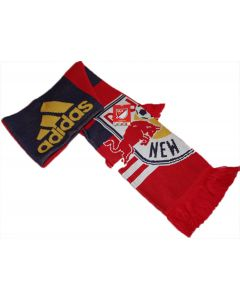 adidas NY Red Bulls Scarf Jacquard - Red/Navy