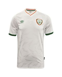 Umbro Ireland Mens Away Jersey short sleeve 2020- White