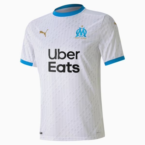 Puma Olympique Marseille Mens Home Jersey Replica 2020/21