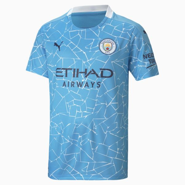 Puma Manchester City Youth Home Jersey 20/21-Blue