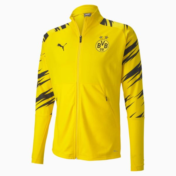 Puma BVB Stadium Mens Jacket- Yellow