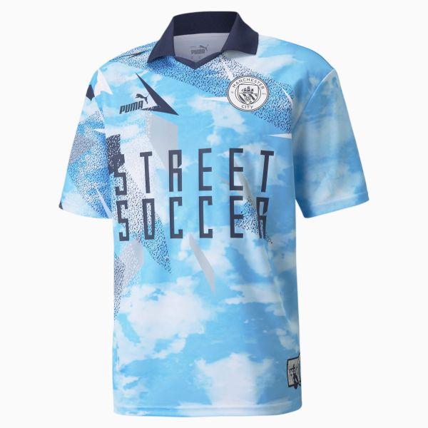 Puma MCFC Street Jersey - Blue