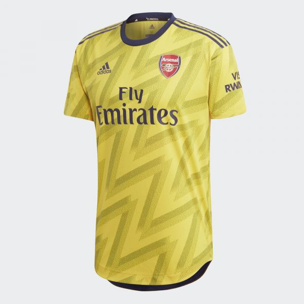 adidas Arsenal Away Authentic Jersey Mens 2019/20 - Yellow