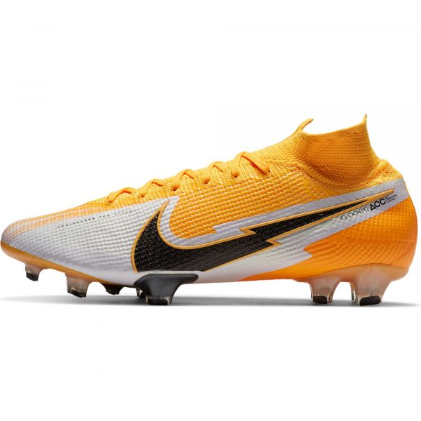 Nike Mens Mercurial Superfly 7 Elite Firm Ground cleats- Orange