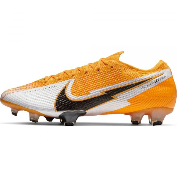 Nike Mens Mercurial Vapor 13 Elite Firm Ground cleats -Orange