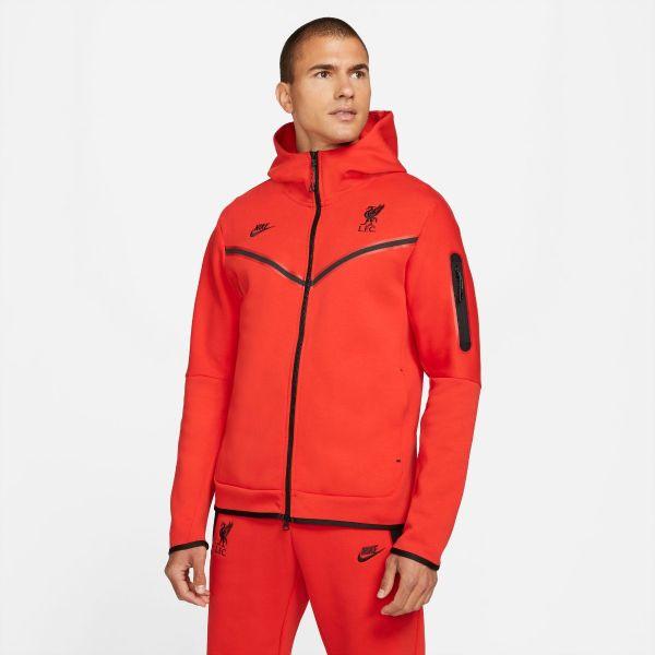 Nike LFC Tech Pack Hoodie - Red
