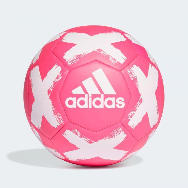 adidas Starlancer Club Soccer Ball- Pink White